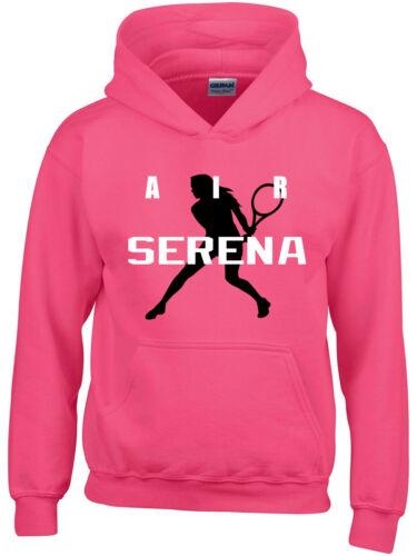 """Serena Williams Tennis Grand Slam /""""Air Serena/"""" Hooded SWEATSHIRT HOODIE"""