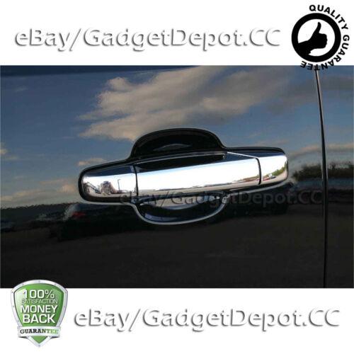 For 2007-2014 GMC Yukon// Yukon XL 4 Chrome Door handle cover W//O PSG Keyhole