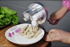 New Spaghetti Pasta Cavatelli Maker Fettuccine Noodle Press Machine