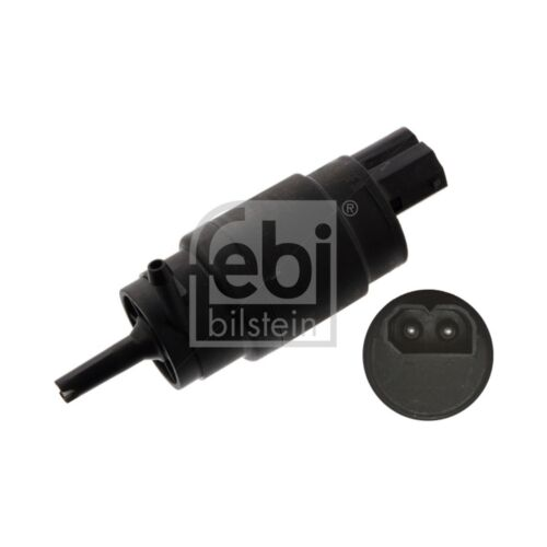 Febi Bilstein 04795 Windscreen Washer Pump Single Fits: BMW
