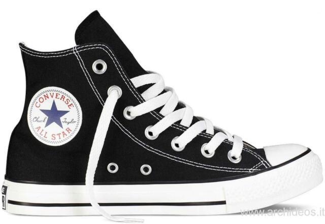 scarpe converse uomo alte