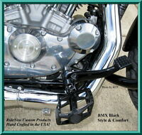 Bmx Foot Pegs Harley Sportster Bobber Hiway Peg Chopper