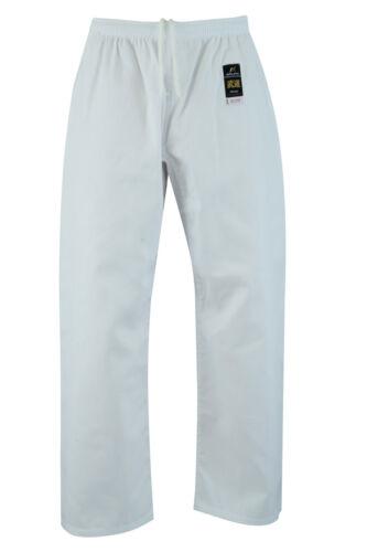 Malino Student Karate Gi White Uniform Kids Men Unisex Suit with Free Belt 6oz