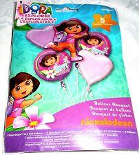 Anagram DORA The Explorer Happy Birthday Foil Balloon Bouquet