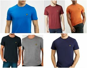 Lyle-and-Scott-crew-neck-Short-Sleeve-shirt-for-Men-Exclusive-Collection
