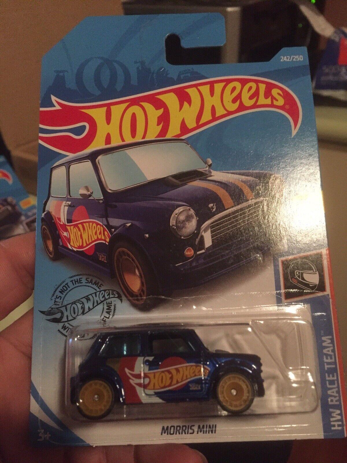 autorización oficial 2019 Hotwheels Morris Mini Mini Mini súper Secret Treasure Hunt-Nuevo  sorteos de estadio