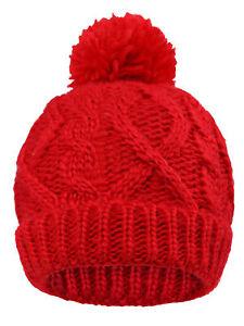777c3f4d03a9 Toddler Kids Gril Boy Infant Winter Warm Fleece Lined Beanie Knit ...
