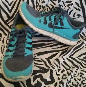 Nike Free 5.0 Shoes Men's Size 9.5 ~ Free Priority Shipping!