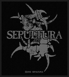 Sepultura-034-Gris-Logo-034-Patch-Patches-tisse-602243