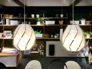 Ikea Design Suspension Luminaire Lampe Rond 44 Cm Luminaire De