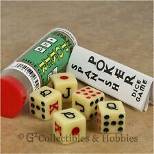 SPANISH POKER DICE GAME 10 SETS 16mm  50 DICE TOTAL TEXAS HOLDEM