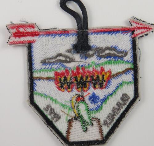 OA Lodge 116 Santee eX1992-2 D1758 Fdl; Summer Fellowship