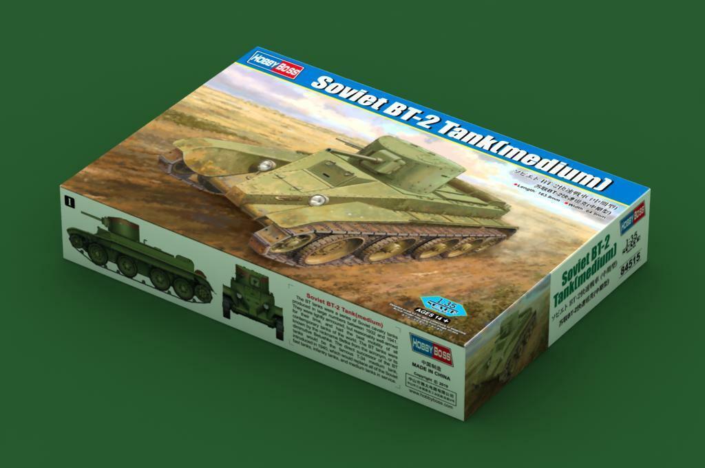 ventas en linea Hobby Boss 1 35 Sovietico BT-2 Cocheroarmato (Medium)    84515  minoristas en línea