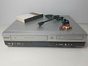 RCA-DRC8320N-VHS-DVD-Recorder-Player-6-Head-Hi-Fi-VCR-Combo-No-Remote-Tested