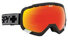 SPY OPTIC PLATOON Ski Snowboarding Goggles Black Frame + Bronze Red Spectra Lens