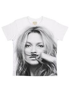 Eleven Paris - Mokat Kate Moss Allover Herren T-Shirt Weiß (S-XL)