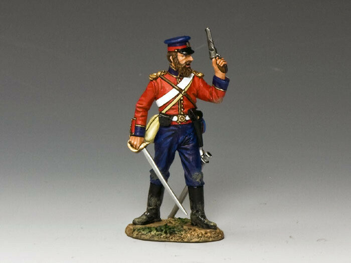 KING AND COUNTRY CRIMEAN British Officer with Pistol & Sword CR001 CR01