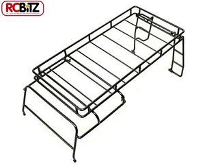 Porte-bagages Rc4wd en métal pour cage de toit Rc Defender D110 Adventure Land Rover Z-c0032 610373637811