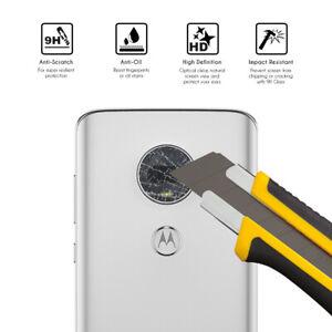 Protector de Cristal Templado lente camara trasero para Motorola Moto G7