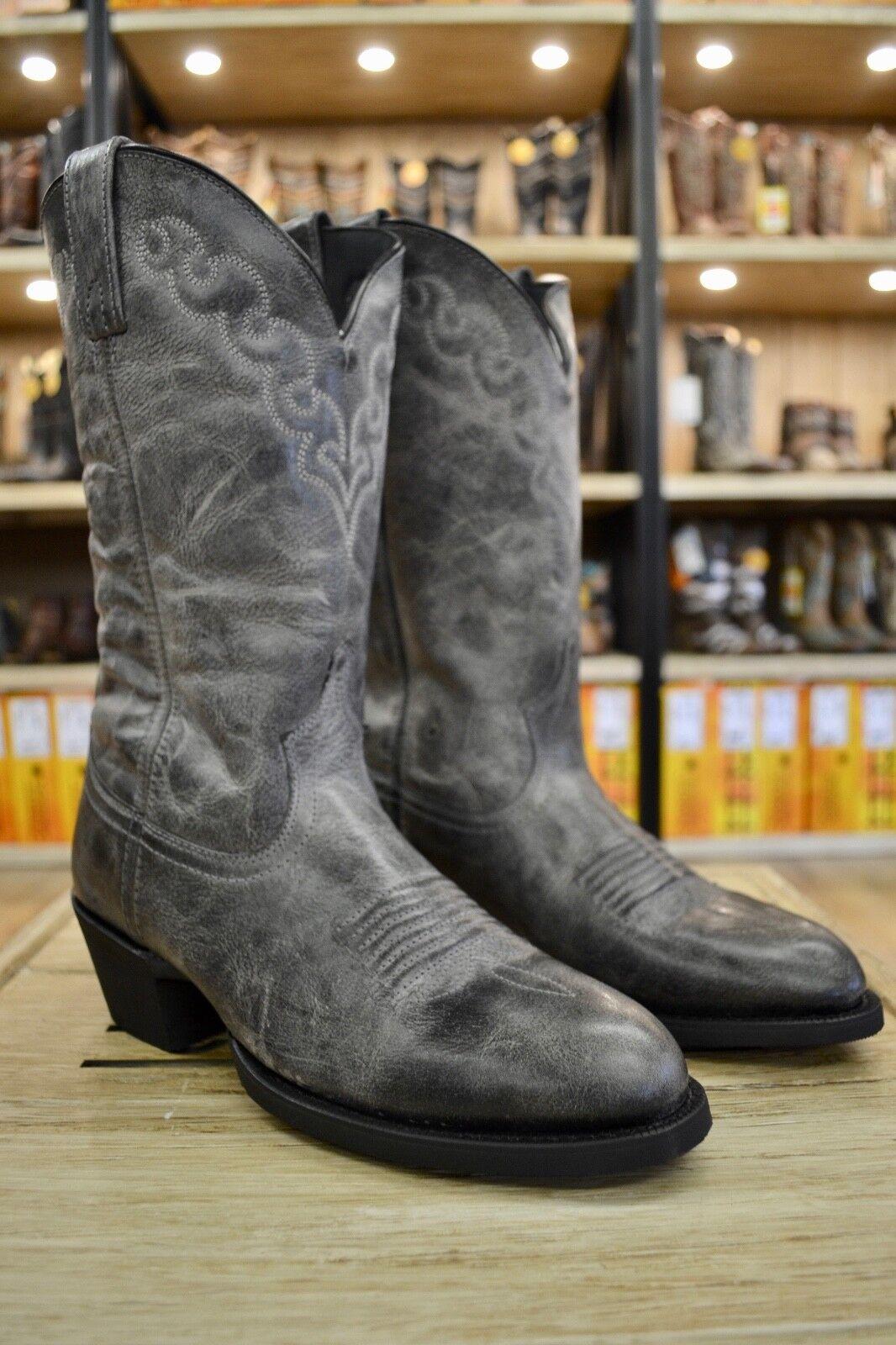 Dingo Men's Koval Grey Round Toe Western Cowboy Boots DI5777