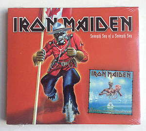 Sealed-IRON-MAIDEN-SEVENTH-SON-CD-RARE-RCMP-BANNED-CANADIAN-CANADA-EDITION