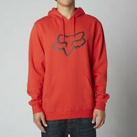 Fox Racing Legacy Fox Head Pullover Hoody Flame Red