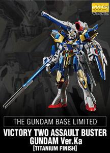 Gundam Base Limited MG V2 Assault-Buster Gundam Ver.Ka[Titanium Finish] instock