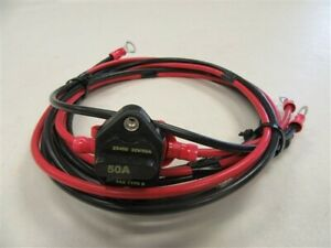 [SCHEMATICS_4LK]  TROLLING MOTOR WIRE HARNESS W / 50AMP BREAKER MARINE BOAT | eBay | Trolling Motor Wire Harness |  | eBay