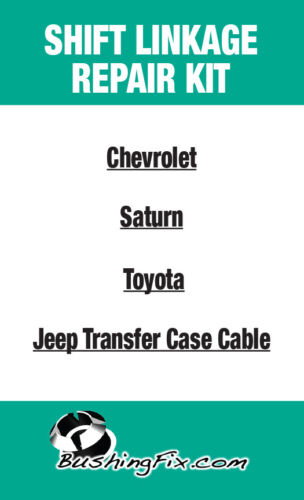 Transmission shifter cable bushing for Dodge Caliber Transfer Case