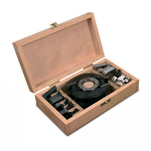 MTL-40mm-Wide-x-93mm-Dia-x-30mm-Spindle-Moulder-Cutter-Block-amp-6-Knife-Box-Set