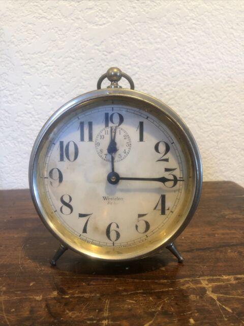 Antique Westclox Large Alarm Clock ca. 1918-1922