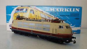 Marklin 3054 Locomotive Electrique Br 103 113-7 Db Bon Etat En Boite