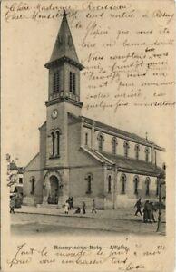 CPA ROSNY-sous-BOIS - L'Eglise (123991)