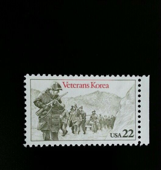 1985 22c Korea War Veterans Scott 2152 Mint F/VF NH