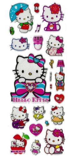 3D puffy Stickers HELLO KITTY white London Sanrio