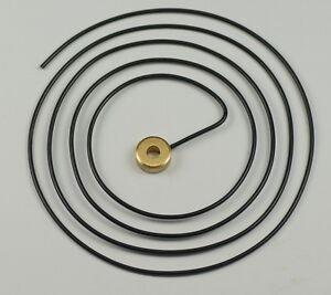 """GONG WIRE CLOCKS 4 1/2"""" diameter clock parts clockmakers repairs alarm"""