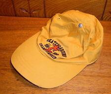 Vintage Hat - Skateboarding Championship 1989 - Missing Top Felt Cap