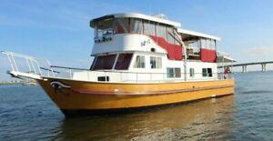 1969 60ft Vintage Monark Motor Yacht