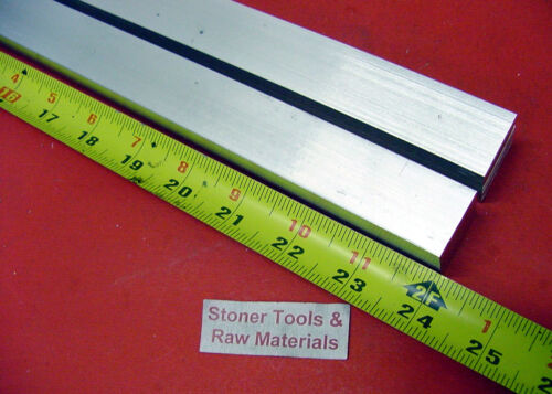 "10 Pieces 5//8/"" X 5//8/"" ALUMINUM 6061 SQUARE FLAT BAR 24/"" long T6 New Mill Stock"