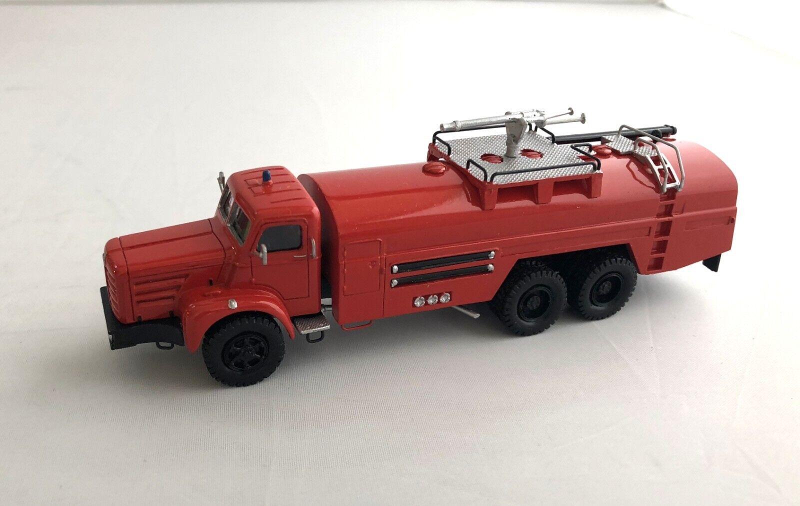 Ho 1/87 Berliet GBO-VMR130 - Camión de Bomberos-Ready Made Modelo De Resina