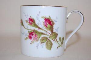 Kaffeetasse-6-5-6-5-Rose-Rosenknospe-Goldrand-glatt-Rosenthal
