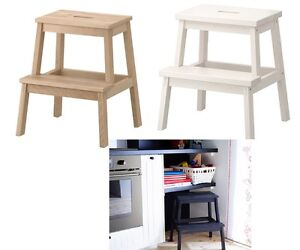 IKEA BEKVAM Step Stool Solid Wood Kitchen Wooden