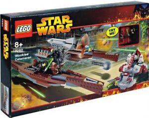 Lego Star Wars la revanche du jeu de catamarans Sith Wookie # 7260 792736107268