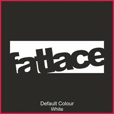 Fatlace Decals x2, Car, Vinyl, Sticker, Decal, JDM VW VAG EURO, DRIFT, N2169