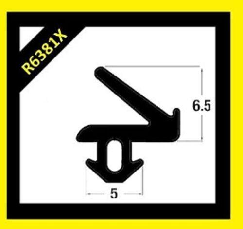 Dichtung R6381x Upvc Dichtung Schwarz Gummi Fenster und Türen Abdichtung