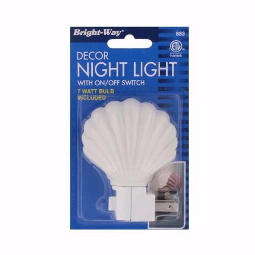 Bright-Way Shell Style Night Light Model 883 Case of 12