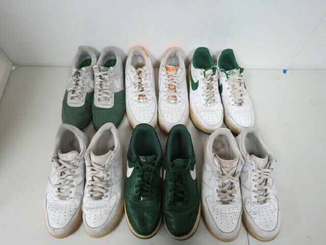 LOT OF 6 NIKE AIR FORCE 1 LOW TOP SHOES ALL SIZE 13M M416K
