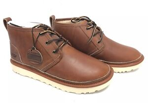 bb1d166db0a Details about UGG Australia Neumel Pinnacle Tan Lace Up Boot 1100024  Horween Leather Shoes