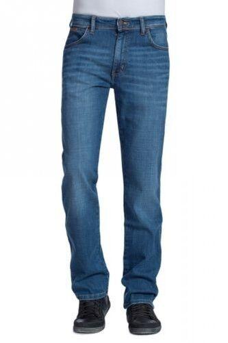 Wrangler Jeans Texas Stretch Regular Tapered worn broke NEW