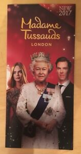 Madame-Tussaud-s-London-Fold-Out-Map-amp-Promotional-Flyer-2017-Kong-Skull-Island